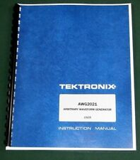 Tektronix Awg2021 User Manual Comb Bound Amp Protective Covers