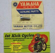 NOS YAMAHA 256-14922-00 SCREW,THROTTLE 1970-80 XS360/400/650/750/1100