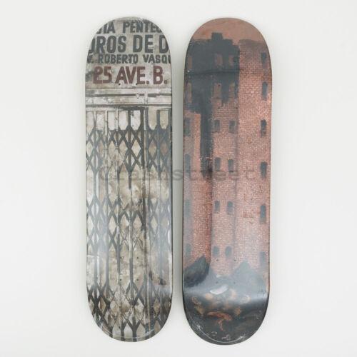 Set Of 2 Supreme FW19 Martin Wong Big Heat /& Iglesia Pentecostal Skateboard