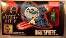 "Animated ""The New Adventures Of Batman & Robin"" Nightsphere Exclusive Batplane"