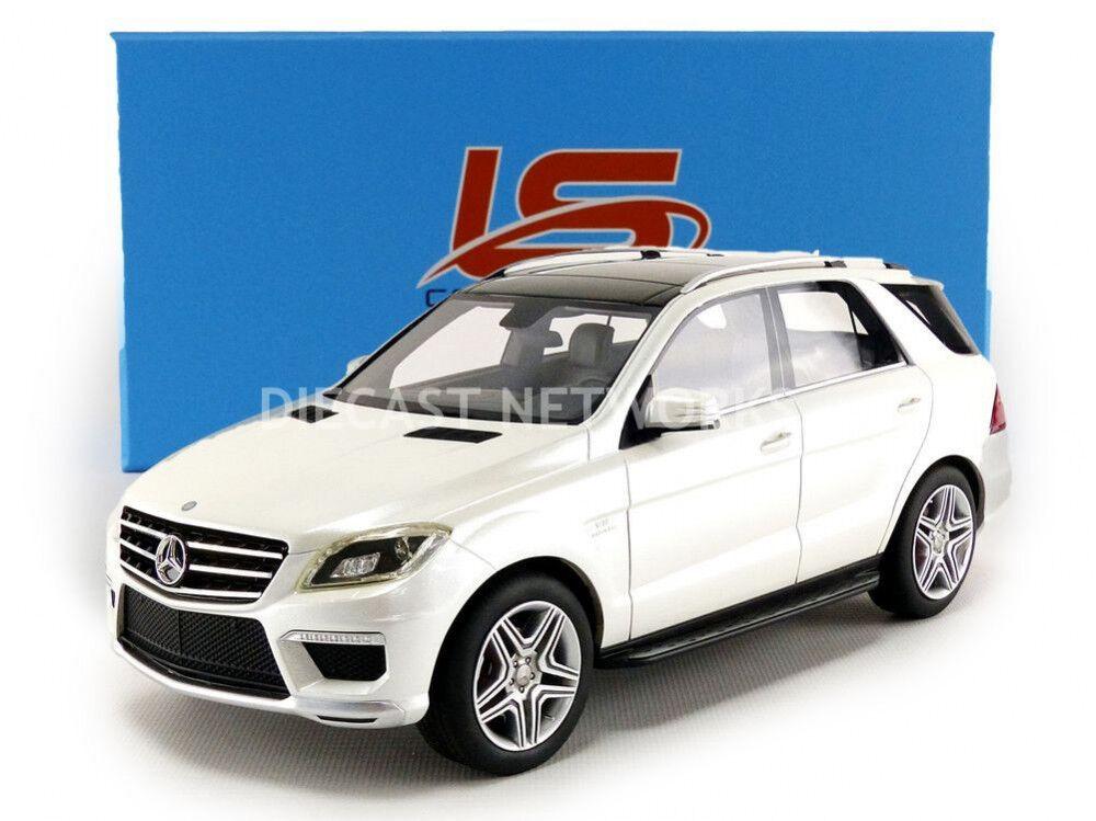 Ls Collectibles 2012 Mercedes Benz Ml 63 AMG AMG AMG Blanco 1 18 Escala Le de 1000 Nuevo 9de5b9