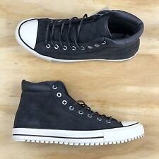 d30348958bde Converse Chuck Taylor All Star Boot PC HI Black Grey White Shoes 153675C  Size 11