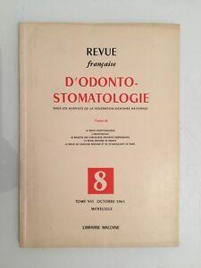 Revista Française De Tomo VIII Librería Maloine 1961