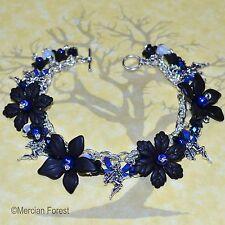 Midnight Fairy Pagan Bracelet - Wicca, Witch, Goth, Gothic, Fae