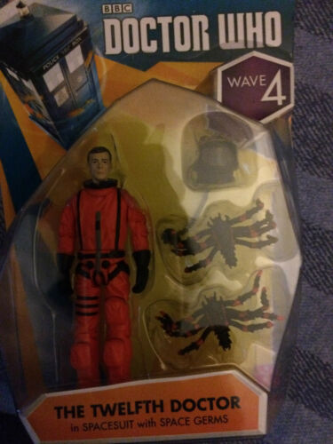 12th doctor  in spacesuit   3.75 inch figure Doctor who   wave 4
