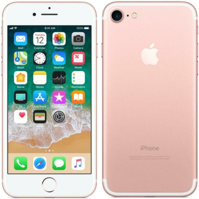 Apple iPhone 7 - Unlocked - 32GB - Rose Gold - Smarthone