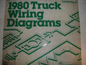 1980 Ford F600 - F800 Truck Electrical Wiring Diagrams ...