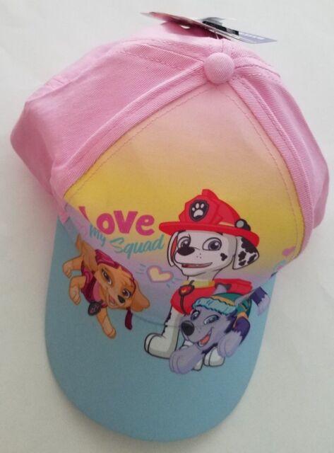 5d95c3477 Toddler Girl Paw Patrol Marshall Skye & Everest Baseball Cap Hat