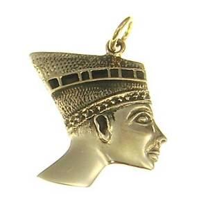 Egipcio-Nofretete-Bronce-Colgante-Simbolo-Joya-Nuevo