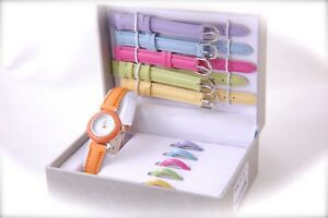 Girls-Gift-Set-with-interchangeable-Watch-Color-Bands-amp-Bezels