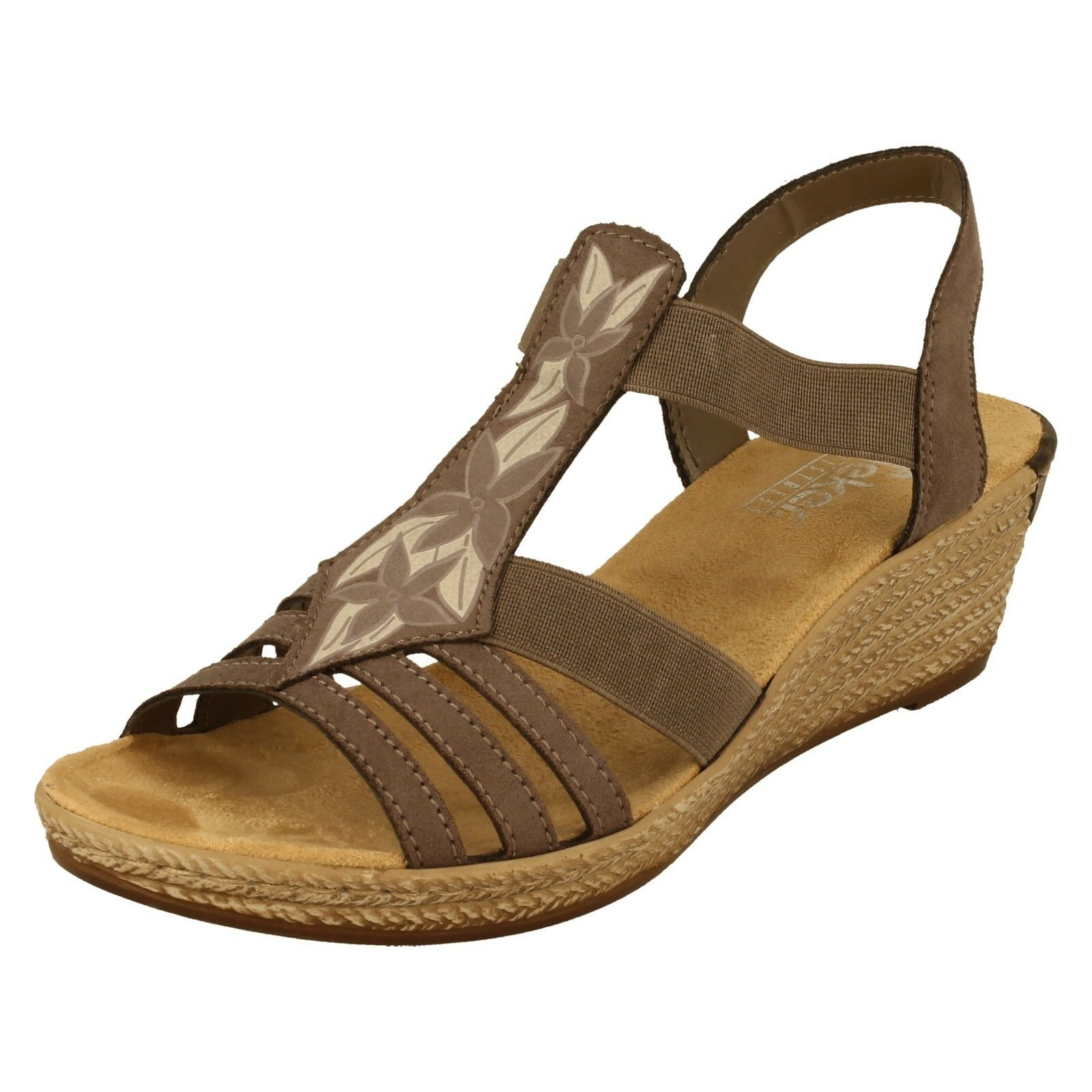 Damenschuhe Rieker Sandale - 62411