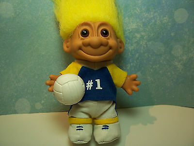 "NEW IN ORIGINAL WRAPPER BIKINI VOLLEYBALL PLAYER 5/"" Russ Troll Doll"