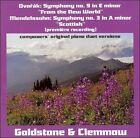 "Dvork: Symphony No. 9 ""From the New World""; Mendelssohn: Symphony No. 3 ""Scottish"" (CD, Jan-2005, Divine Art)"