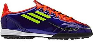Details about Adidas F10 TRX TF J Kids Soccer Shoes Football Boots Trainers  purple G40280 SALE