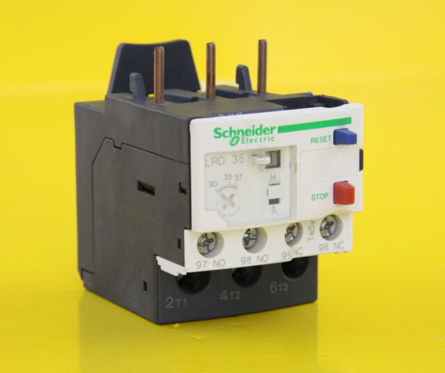 Schneider LRD35 Thermal Overload Relay ( 30 - 38A ) TeSys - 034686