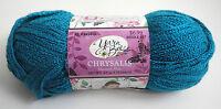 Yarn Bee Chrysalis Acrylic Yarn - 1 Skein - Color Mexican Blue 122