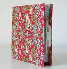 Notebook Birds Floral Plain Pages Pen & Holder Hardback Cover Writing Note Pad