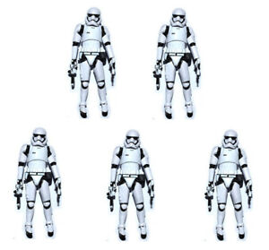 Lot-of-5-Star-Wars-The-Force-Awakens-Stormtrooper-3-75-034-Loose-Action-Figure