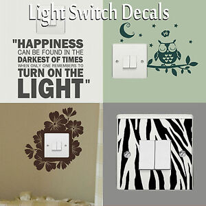 Light-Switch-Covers-Decals-Wall-Stickers-Vinyl-Art-Transfer-Interior-Home-Decor