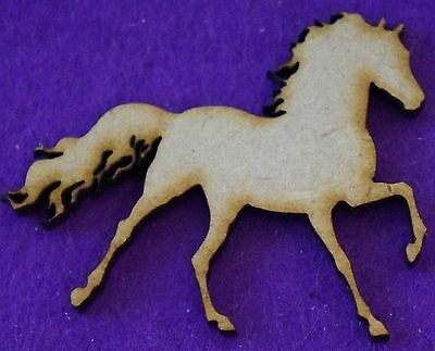 MDF Wooden Horse /& Cart Shape