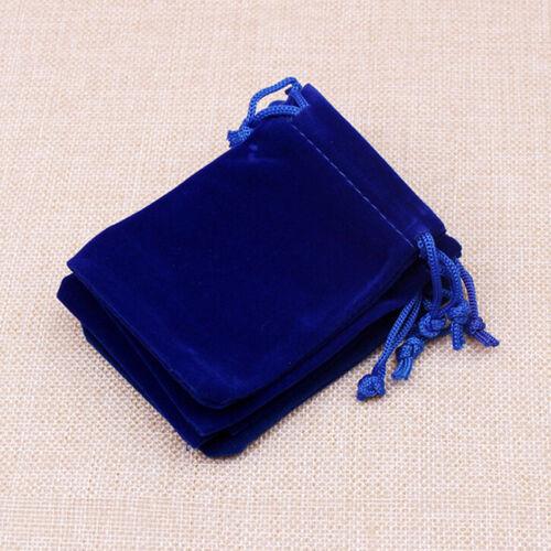 10Pcs Velvet StorageBags Wedding Favor Pouch Jewelry Packaging GiLO