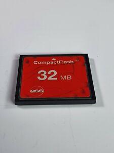 Rare-QSS-COMPACTFLASH-CARD-32M-Vintage-Collectible-item-FCF032S