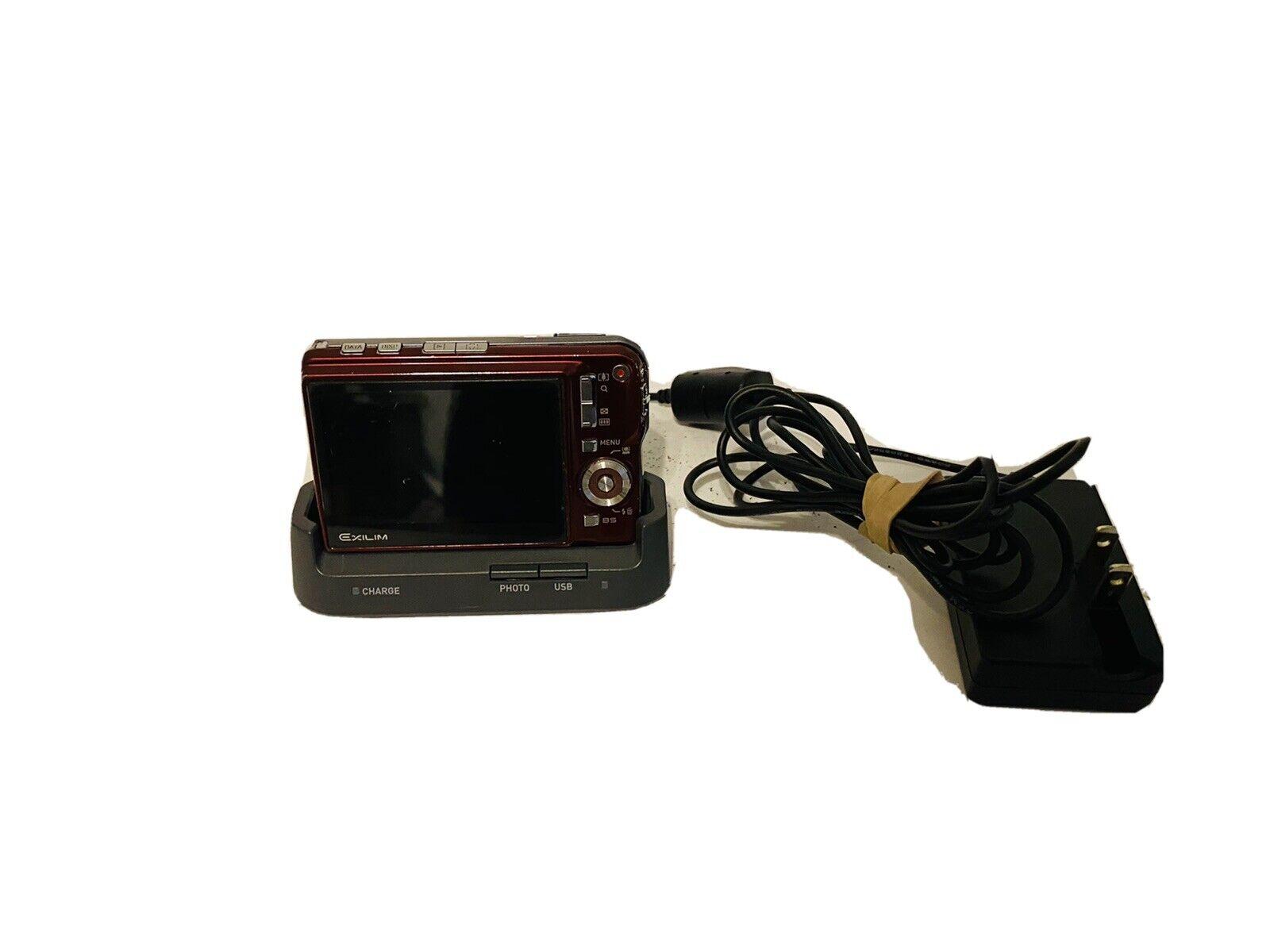 Caricabatteria PER Casio Exilim ex-s880 ex-s770 S 770 880
