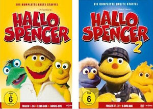 13-DVDs-HALLO-SPENCER-DIE-KOMPLETTE-STAFFEL-1-2-IM-SET-NEU-OVP-amp