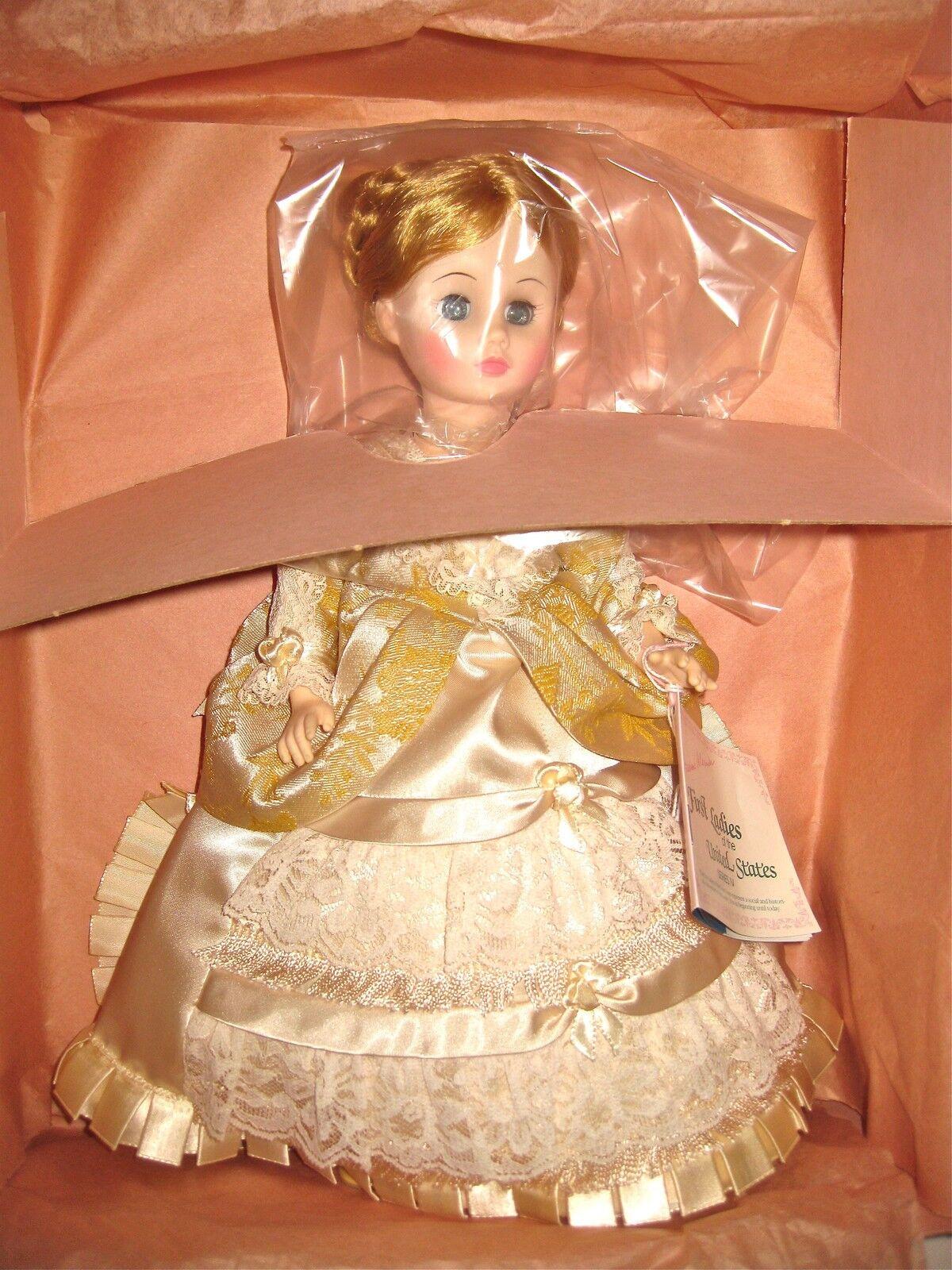 Madame Alexander Primera Dama Colección 14  Lucy Webb Hayes  Menta en caja