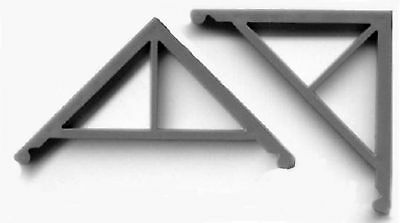 ORNATE SPOOL AND SPINDLE GABLE TRIM O On30 Structure GL3545
