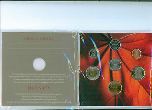2011-CANADA-Oh-Canada-Coin-Set-Special-Comemorative-Quarter-Low-Mintage-MINT