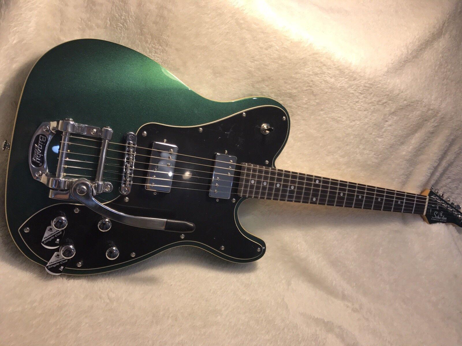 Schecter PT Fastback II DEG 2018 Emerald Grün