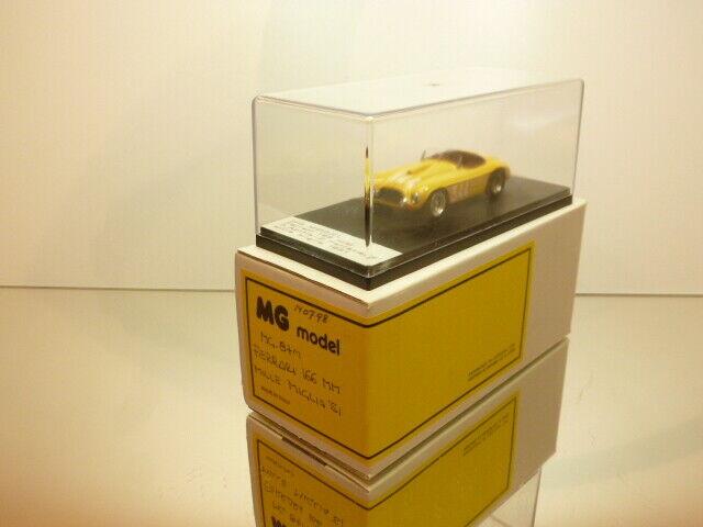 MG Modellll MG97M FERRARI 166 MM 1951  344 - Gelb 1 43 -  VERY GOOD IN BOX