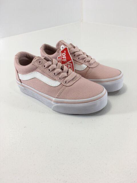 Vans Little Girls Classic Old Skool Sidestripe Shoes Dusty ...
