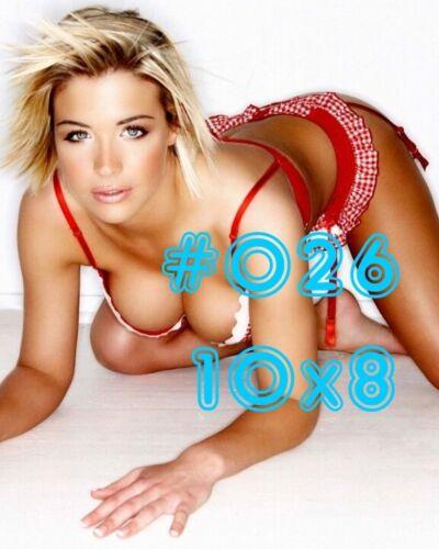 Gemma Atkinson 10x8 /& 8x6 inch Photograph/'s #m02 in Skimpy Underwear Sets