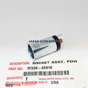 NEW-OEM-TOYOTA-Sequoia-Sienna-Tacoma-Tundra-Venza-POWER-OUTLET-SOCKET-85530AE010