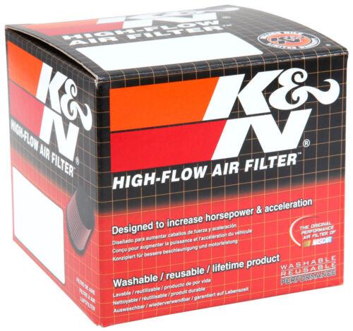 "4/""H 2/""T KN Univer RC-1200 K/&N Universal Chrome Air Filter 2-1//16/""FLG 3-1//2/""B"