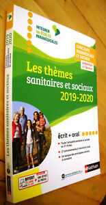 Baumeier-themes-sanitaires-et-sociaux-2019-2020-Concours-paramedicaux-et-sociaux