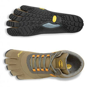 Details about Vibram Fivefingers Trek Ascent Insulated KhakiOrange Men's sizes 40 47 NEW!!!