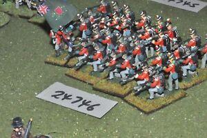 25 mm napoléonien / britannique - régiment 32 figurines (24746)