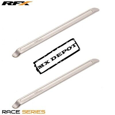RFX Race Dual Spoon end Tyre Lever Silver Universal 280mm 11in Long