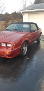 1986 southern Fox  Mustang 5.0 convertible