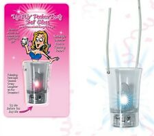 Bachelorette Party Favors LIGHT UP PECKER SHOT GLASS Funny Bridal Shower Gift
