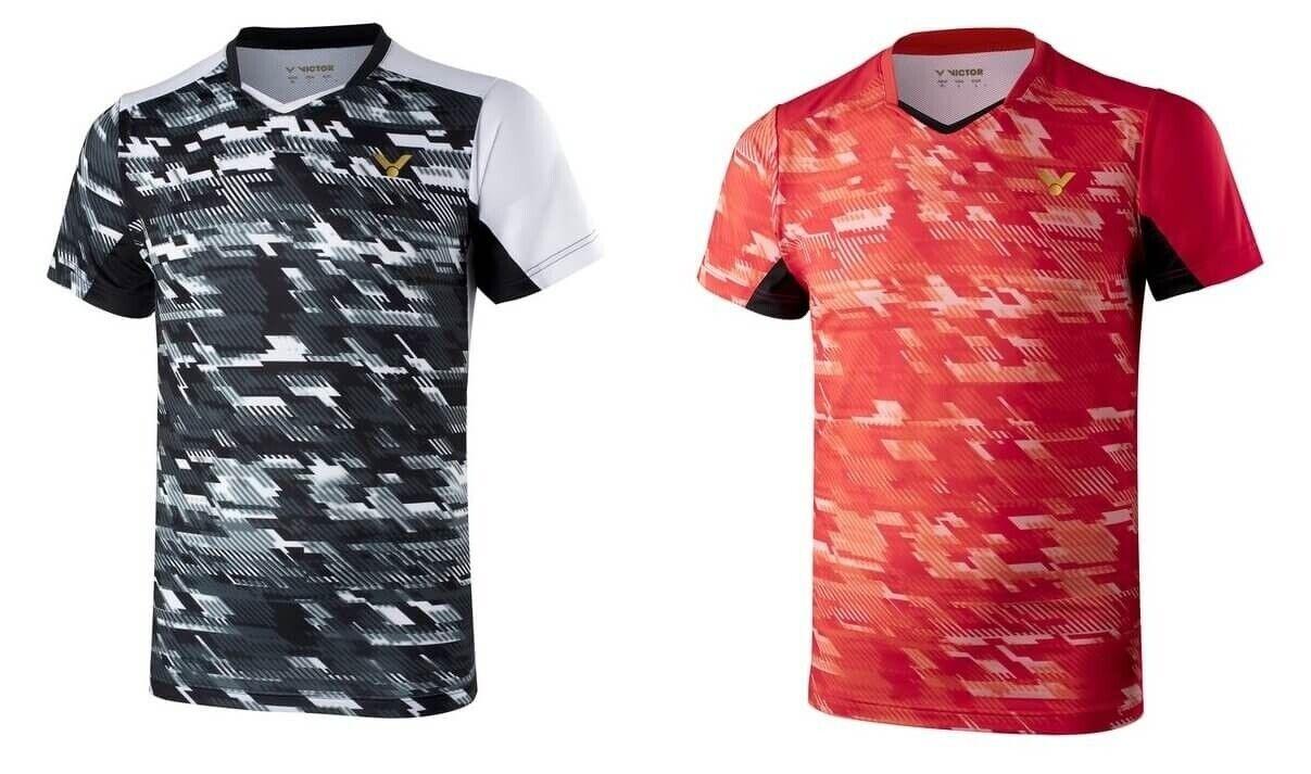 Victor Shirt Camouflage Ltd Badminton PingPong Polo