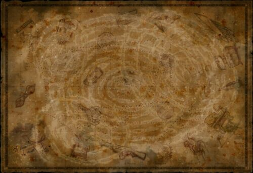 """Call of Duty Black Ops 3 HQ Zombies Chronicles COD Map Poster 13×20 27×40 32×48/"""""""