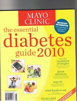 B004JY0H06 Mayo Clinic the Essential Diabetes Guide 2010 ...