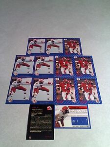 Darryl-Hall-Lot-of-21-cards-3-DIFFERENT-Football-CFL