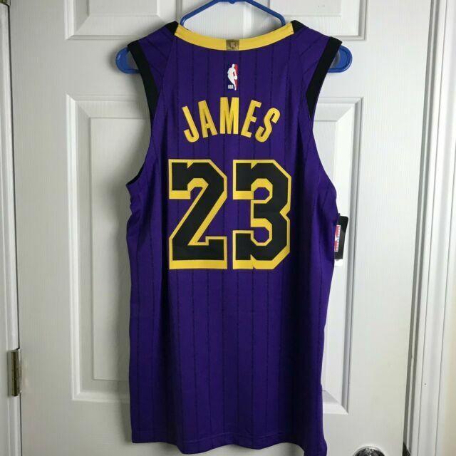 Nike Vaporknit Los Angeles Lakers Lebron James City Edition Jersey ...