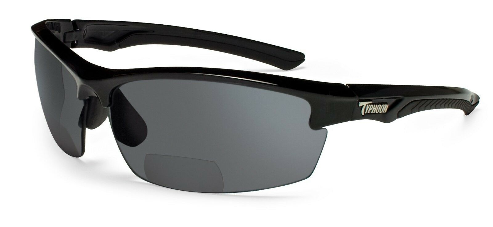 c09455f8af Typhoon Optics Mariner II Bifocal Sunglasses 948tbk 2.5 Black ...
