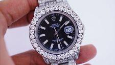 24 Carats White Diamond Rolex 41 MM Date Just II 2 Watch BEST PRICE EBAY ASAAR